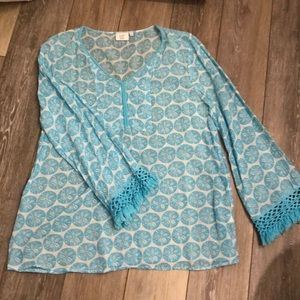 Crown and Ivy tunic